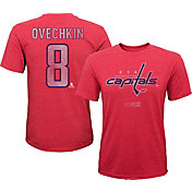 CCM Youth Washington Capitals Alex Ovechkin #8 Vintage Replica Home Player T-Shirt