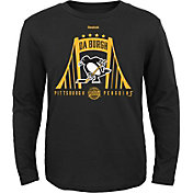 Reebok Youth 2017 NHL Stadium Series Pittsburgh Penguins City of Bridges Long Sleeve T-Shirt