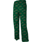 Reebok Youth Minnesota Wild Green Sleep Pants