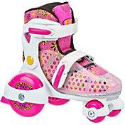 Roller Derby Girls' Fun Roll Adjustable Quad Roller Skates