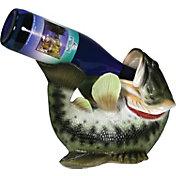 Rivers Edge Bass Wine Bottle Holder