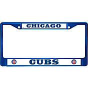 Rico Chicago Cubs Blue Chrome License Plate Frame