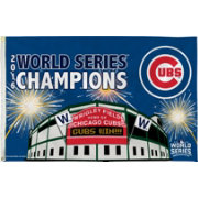 Rico 2016 World Series Champions Chicago Cubs Wrigley Field Flag