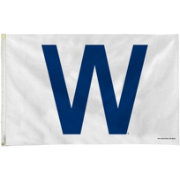 Rico Chicago Cubs W Win 3ft x 5ft Flag