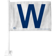 Rico Chicago Cubs W Win Car Flag