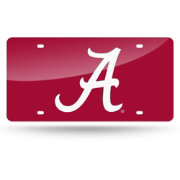 Rico Alabama Crimson Tide Red Laser Tag License Plate