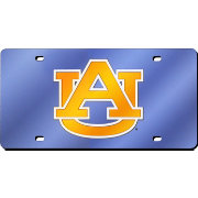 Rico Auburn Tigers Blue Laser Tag License Plate