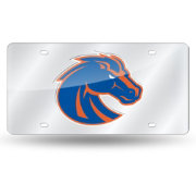Rico Boise State Broncos Silver Laser Tag License Plate