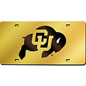 Rico Colorado Buffaloes Gold Laser Tag License Plate
