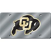 Rico Colorado Buffaloes Silver Laser Tag License Plate