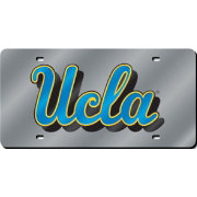 Rico UCLA Bruins Silver Laser Tag License Plate
