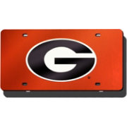 Rico Georgia Red Laser Tag License Plate