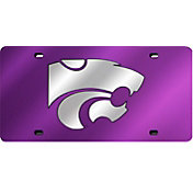 Rico Kansas State Wildcats Purple Laser Tag License Plate