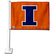 Rico Illinois Fighting Illini Car Flag