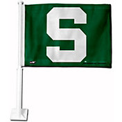Rico Michigan State Spartans Car Flag