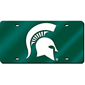 Rico Michigan State Spartans Green Laser Tag License Plate
