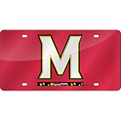 Rico Maryland Terrapins Red Laser Tag License Plate