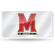 Rico Maryland Terrapins Silver Laser Tag License Plate