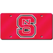Rico NC State Wolfpack Red Laser Tag License Plate