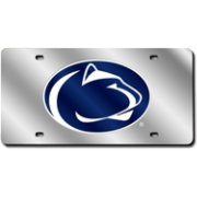 Rico Penn State Nittany Lions Silver Laser Tag License Plate