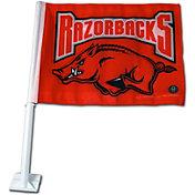 Rico Arkansas Razorbacks Car Flag