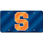Rico Syracuse Orange Laser Tag License Plate