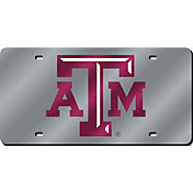 Rico Texas A&M Aggies Silver Laser Tag License Plate