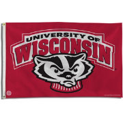 Rico Wisconsin Badgers Banner Flag