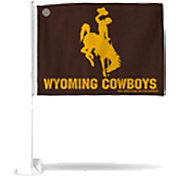 Rico Wyoming Cowboys Car Flag
