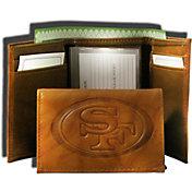 Rico NFL San Francisco 49ers Embossed Tri-Fold Wallet