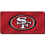 Rico San Francisco 49ers Red Laser Tag License Plate
