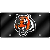 Rico Cincinnati Bengals Black Laser Tag License Plate