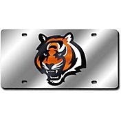 Rico Cincinnati Bengals Silver Laser Tag License Plate