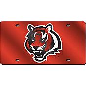 Rico Cincinnati Bengals Orange Laser Tag License Plate