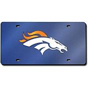Rico Denver Broncos Navy Base Laser Tag License Plate