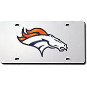 Rico Denver Broncos Silver Laser Tag License Plate