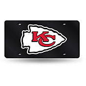 Rico Kansas City Chiefs Black Base Laser Tag License Plate