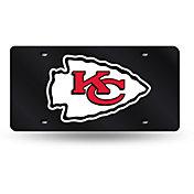 Rico Kansas City Chiefs Black Base Laser Tag License Plate