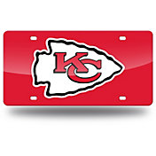 Rico Kansas City Chiefs Red Laser Tag License Plate