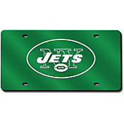 Rico New York Jets Green Laser Tag License Plate