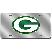 Rico Green Bay Packers Silver Laser Tag License Plate