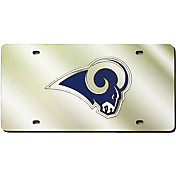 Rico Los Angeles Rams Gold Laser Tag License Plate
