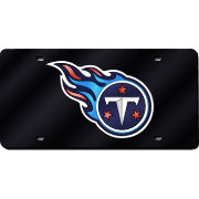 Rico Tennessee Titans Black Laser Tag License Plate