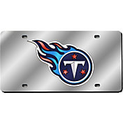 Rico Tennessee Titans Silver Laser Tag License Plate
