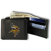 Rico NFL Minnesota Vikings Embroidered Tri-Fold Wallet