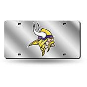 Rico Minnesota Vikings Silver Laser Tag License Plate
