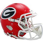 Riddell Georgia Bulldogs Speed Revolution Authentic Full-Size Football Helmet