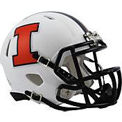 Riddell Illinois Fighting Illini 2014 Speed Mini Football White Helmet