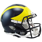 Riddell Michigan Wolverines Speed Revolution Authentic Full-Size Football Helmet