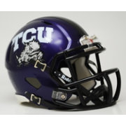 Riddell TCU Horned Frogs Mini Speed Helmet